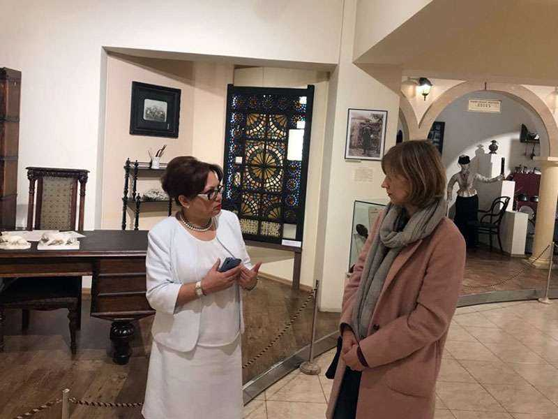 Yerevan History Museum hosted the Director of the Museum of History of Chisinau