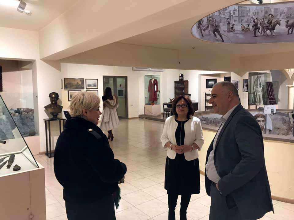 Քննարկվել են Տուլայի «Պրյանիկի միջազգային թանգարանի» հետ համագործակցության հնարավորությունները