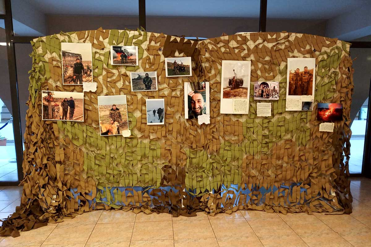 """An exhibition entitled """"44 Days"""" opened at Yerevan History Museum"""