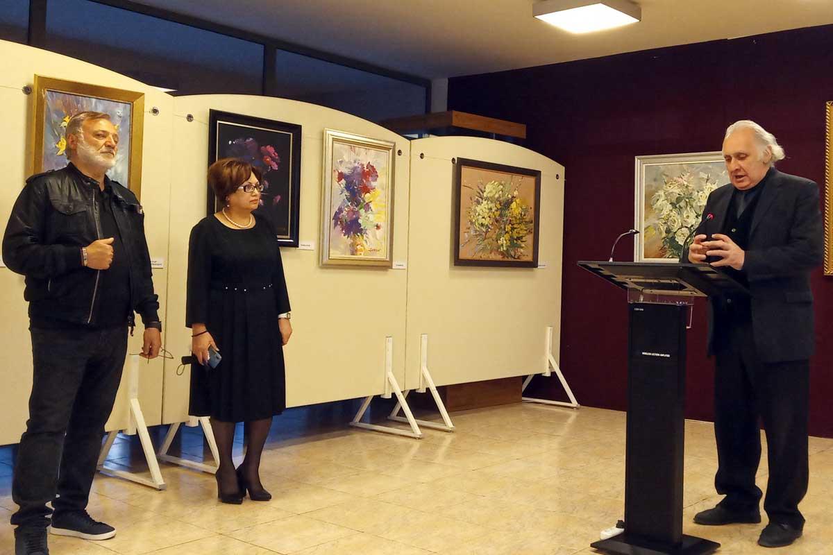 Բացվեց Սուրեն Խորենյանի ստեղծագործությունների ցուցահանդեսը